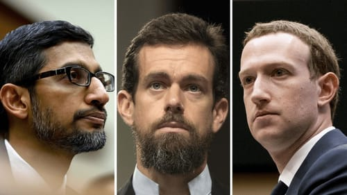 Facebook Twitter and Google officials will defend the laws that protect them