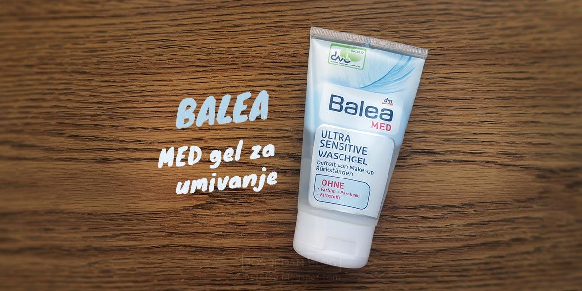 Recenzija Balea Med Ultra Sensitive gela za umivanje