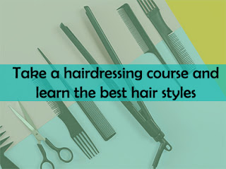 Take a hairdressing course and learn the best hairstyles