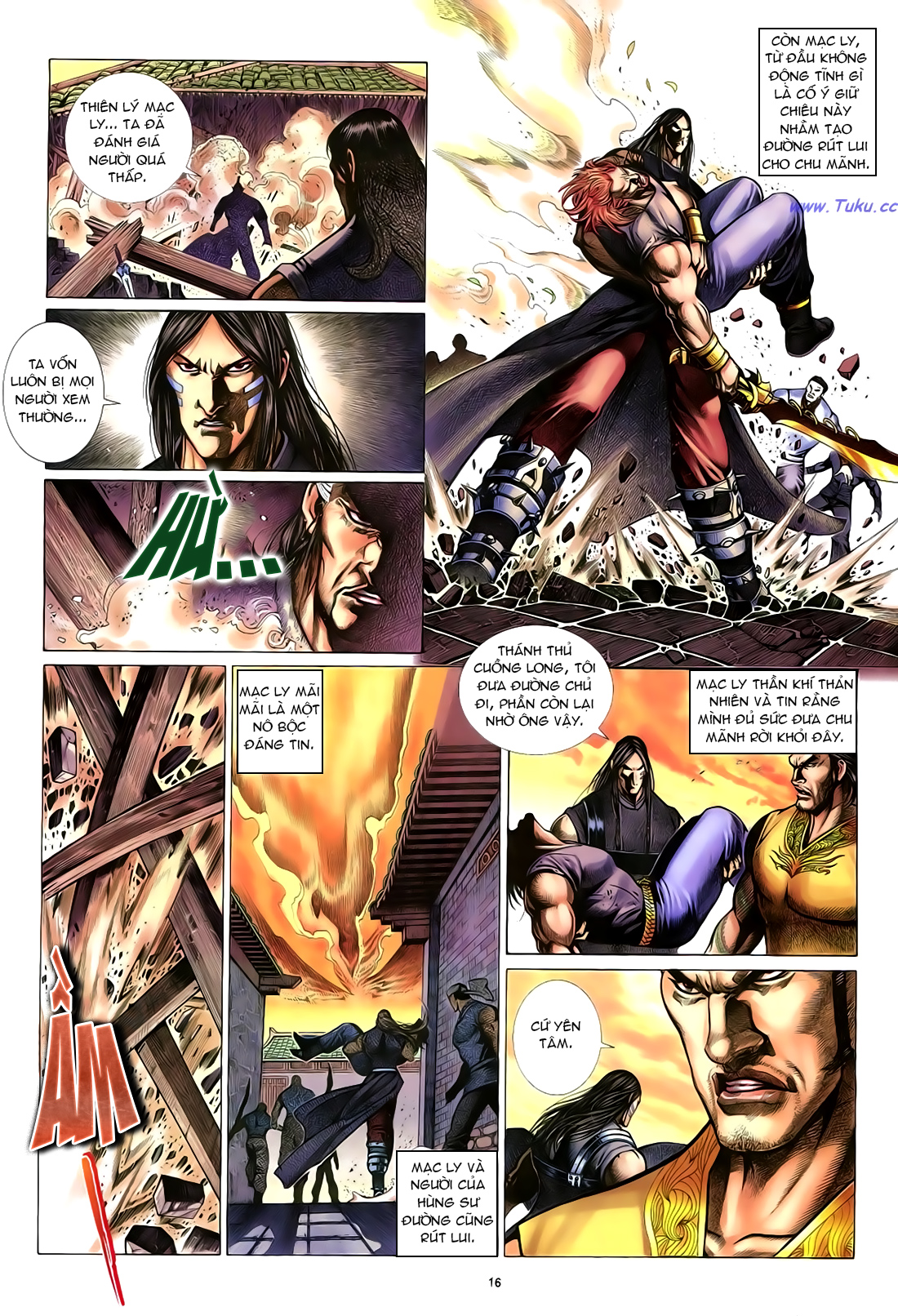 Anh hùng vô lệ Chap 23 trang 17