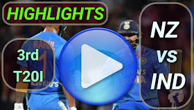 NZ vs IND 3rd T20I 2020