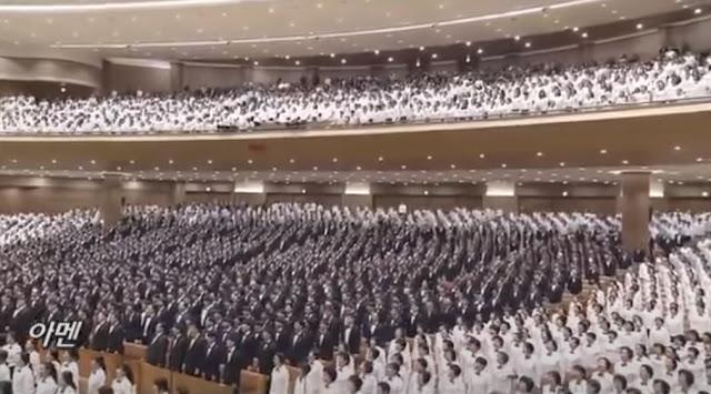 Paduan suara natal terbesar di korea selatan