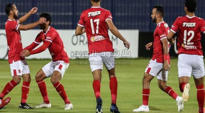 الاهلي يحقق فوز كبير على الجونة باربع اهداف بدون رد الدوري