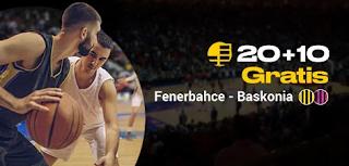 bwin promo Euroliga Fenerbahce vs Baskonia 17-10-2019
