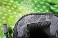 Schlaufe: Greatlizard Außen multifunktionale Nylon taktische Tasche stark und dauerhaft im Freien Armee taktische Taschen (schwarz Python-Muster)