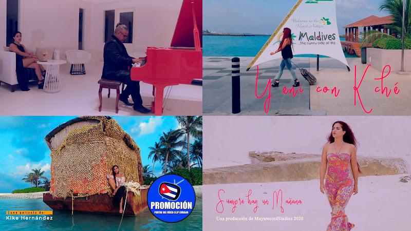 Yeni con Kché - ¨Siempre hay un mañana¨ - Videoclip - Director: Kike Hernández. Portal Del Vídeo Clip Cubano. Música cubana. Canción. Bachata. Cuba.