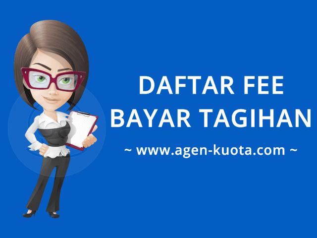 Daftar Fee Bayar Tagihan Online PPOB Terlengkap & Tiket Murah Agen-Kuota.com