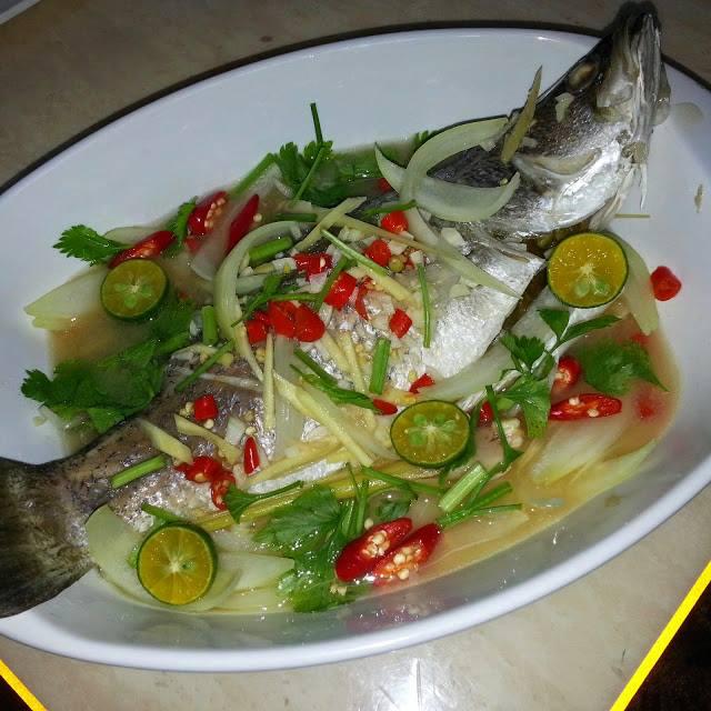 Resep Stim Ikan Kakap Ala Thailand Paling Enak dan Segar