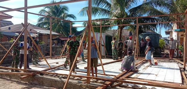 TMMD di Pulau Osi Berikan Manfaat ke Warga Seram Bagian Barat