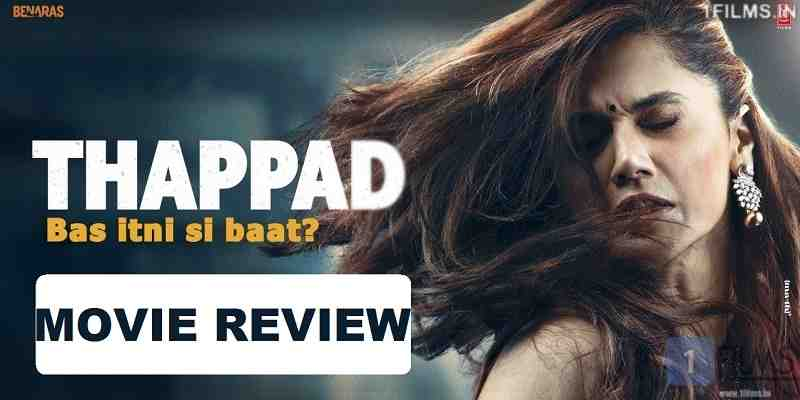 Thappad Movie Review Poster