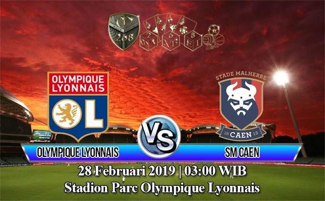 Prediksi Lyon vs Caen, Kamis 28 Februari 2019 Pukul 03:00 WIB