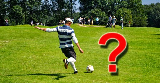Futegolf - Footgolf