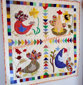 Four Seasons Chicken Quilt