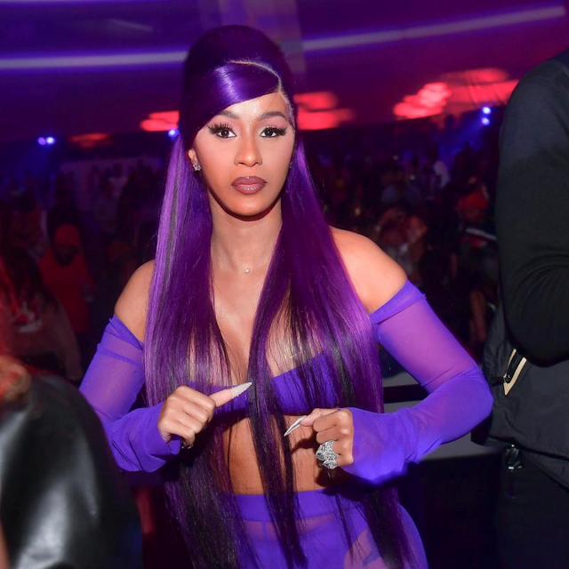 Cardi B informed she was hospitalized with stomach pains
