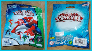 2 Zuru Spiderman 1 Blind Bag; Fantasy Figures; Fantasy Models; Pocket Money Toy; PVC Vinyl Rubber; Small Scale World; smallscaleworld.blogspot.com; Super Hero; Superheroes;