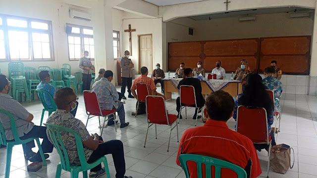 Kapolda Jambi Tinjau Kamtibmas serta memberikan rasa aman dan nyaman kepada masyarakat Provinsi Jambi