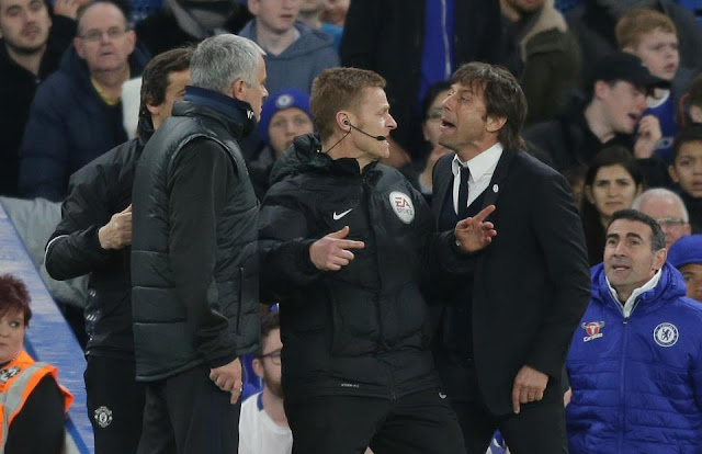 You shouldn't speak about what is not yours - Jose Mourinho blasts Antonio Conte, War of words