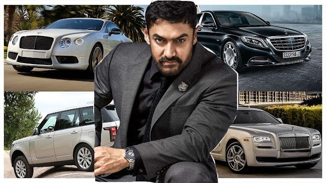 Amir Khan Cars Collection