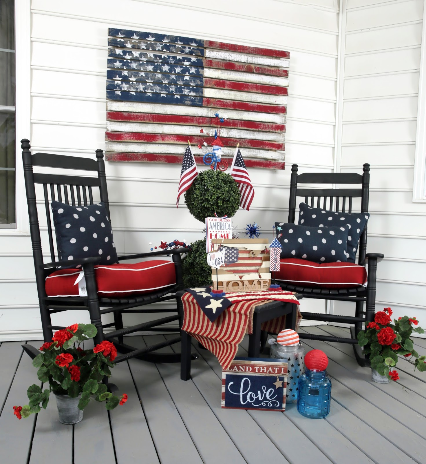 Trees n trends memorial day decorating ideas for Decoration day