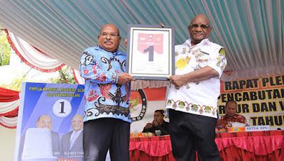 Dapat Nomor Urut 1, LUKMEN Yakin Juara Pilgub Papua