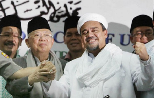 Komunikasi Sudah Jalan, Pertemuan Maruf Amin-Habib Rizieq Segera Terwujud