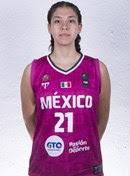 Valeria Mora aportó el único doble doble del juego