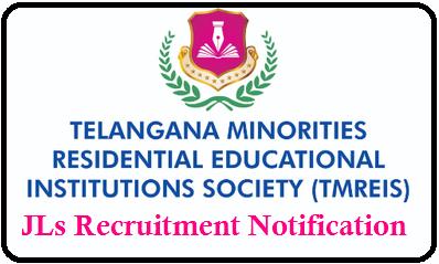 TMREIS JLs Recruitment through Outsourcing -Get Information Here Telangana Minority Residential Educational Institutions Society TMREIS లో జూనియర్ లెక్చర్ర్స్ నియామక ప్రకటన 2020 వెలుబడింది/2020/02/tmreis-telangana-minorities-residential-institutions-society-junior-lecturers-recruitment-notification-2020.html.
