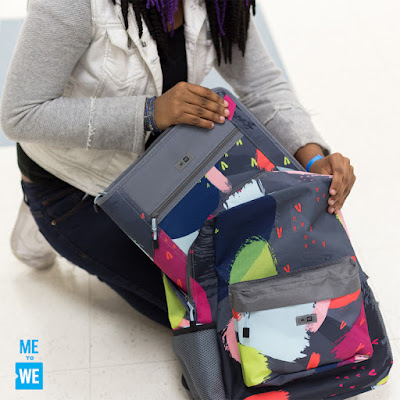 ME to WE - school supplies - backpacks