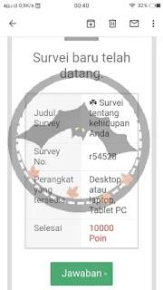 aplikasi survey berbayar penghasil uang