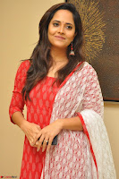Anusuya in Red at Kalamandir Foundation 7th anniversary Celebrations ~  Actress Galleries 034.JPG