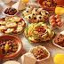 مائدة افطار  رمضانية  مغربية غنية ومتنوعة وبنكهات سوسية مع طريقة تحضير الحريرة البيضاء