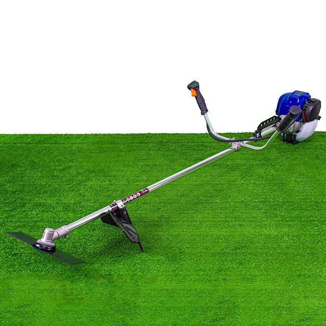 เครื่องตัดหญ้าสะพายบ่า 2 จังหวะ 1.9 แรงม้า (ปุ่มสตาร์ท)