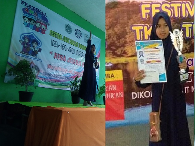 Alifa Rihadatul Anfus (Juara 1 Pidato Putri Pada FASI XI Tingkat Kecamatan Kawalu)
