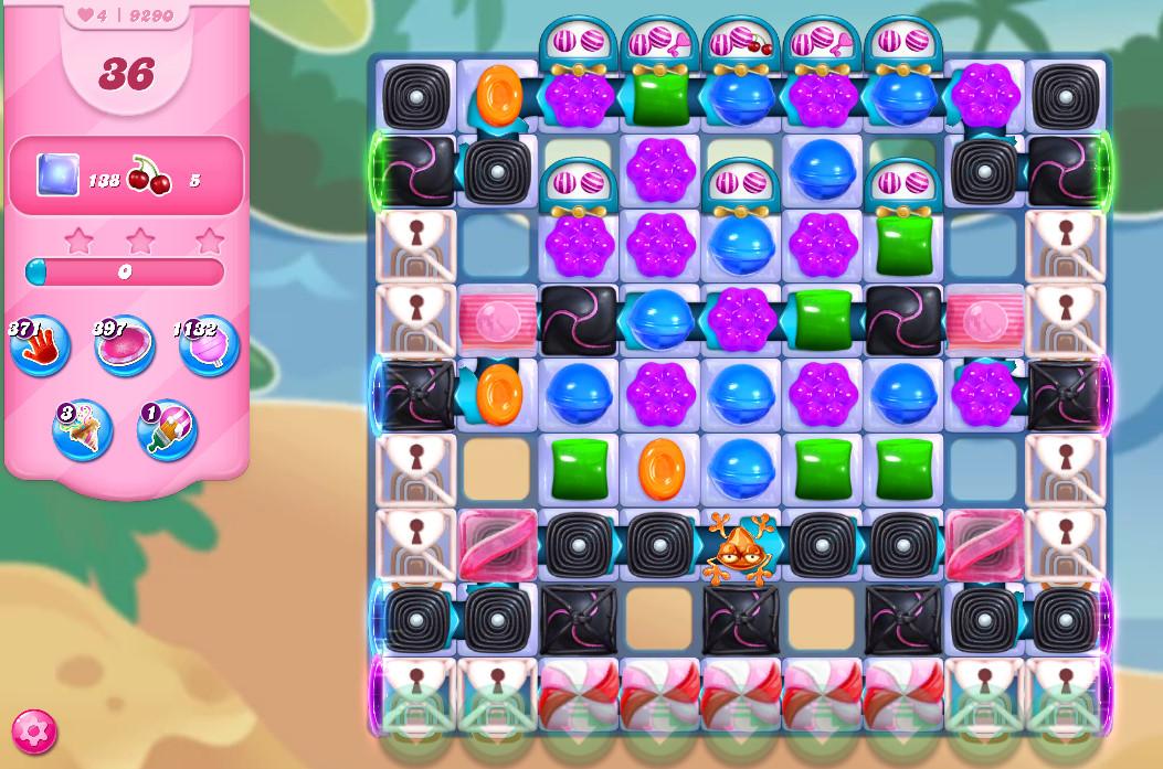 Candy Crush Saga level 9290