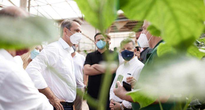 Περιοδεία στη Μεσσηνία πραγματοποίησε ο Πρωθυπουργός