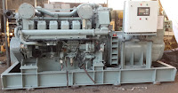 Mitsubishi S12A2 of 846 KVA, 1500 RPM, 50 Hz for Sale