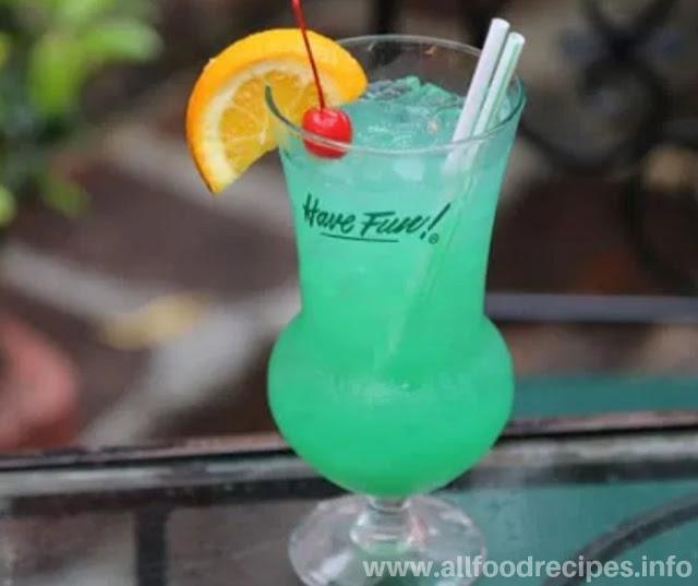 Fresh Fuzzy Leprechaun Cocktail