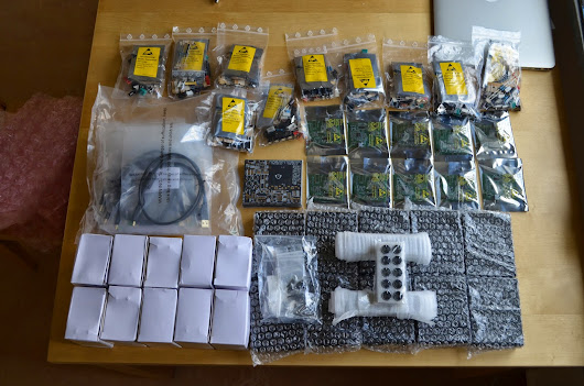 The components for ten O2+ODAC combos have arrived