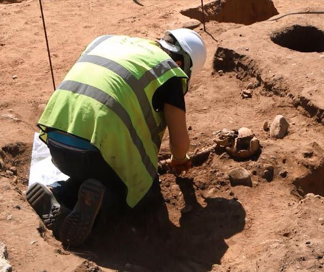Roman graves found under York hotel swimming pool