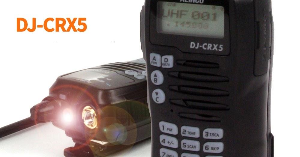 Jual HT Alinco DJ-CRX5 Dual Band | Jual HT Alinco Murah