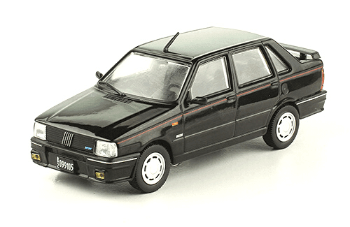 Fiat Duna SCX 1989 1:43, autos inolvidables argentinos 80 90