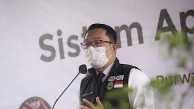 Gubernur Jawa Barat Ridwan Kamil Rencanakan Alihkan Anggaran untuk Tangani COVID-19, Ridwan Kamil: Ada Rp150 M