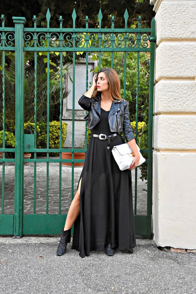 Due trucchi per rendere unici i look total black