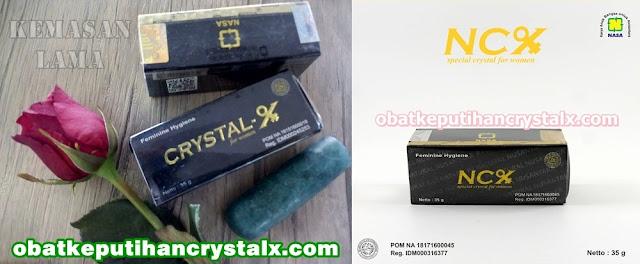 obat keputihan NCX NASA crystal x herbal