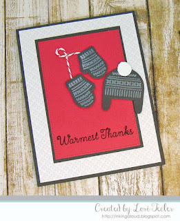 Warmest Thanks card-designed by Lori Tecler/Inking Aloud-stamps and dies from My Favorite Things