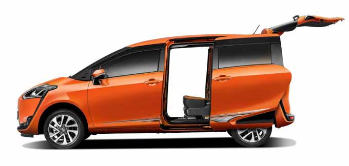Spesifikasi & 12 Gambar Ruang Dalam Toyota Sienta MPV Kompak 2016