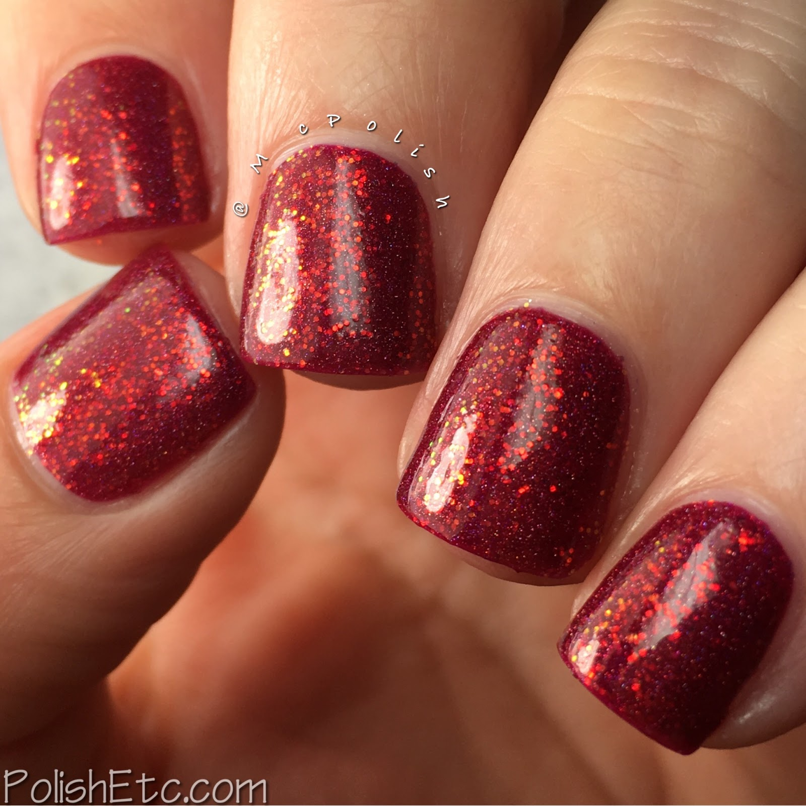 Takko Lacquer - Color4Nails Exclusives - McPolish - Ruby Quartz