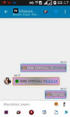 BBM MOD Official v3.3.0.16 Standart APK Update 2017 New !!