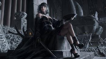 Queen, Fantasy, Girl, Warrior, 4K, #4.3091