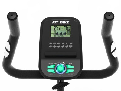 Focus Fitness Fit Bike hometrainer display